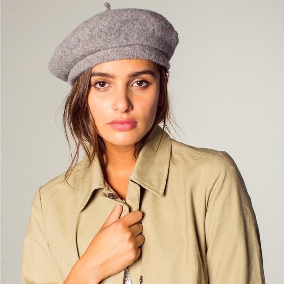 025d7233e4aec Brixton Grey Audrey beret. Listing Price   22.00